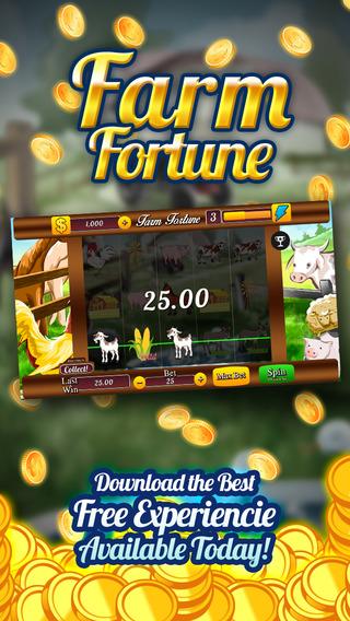 AAA Farm Slots Fortune - Slots Machine Game to Win Progressive Chips with 777 Wild Cherries and Bonu