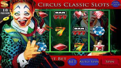 *777* A Abbies Las Vegas Circus Jackpot Classic Slots Machine-1
