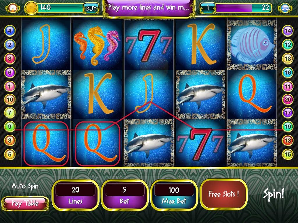 free online casino multi-line slots