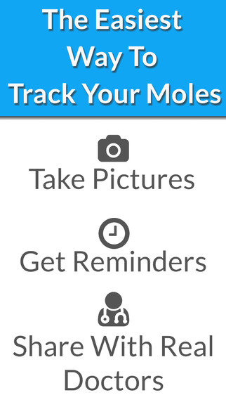 Skin Mole Tracker - MySkinPal - Map your skin moles to help you detect early skin cancer melanoma