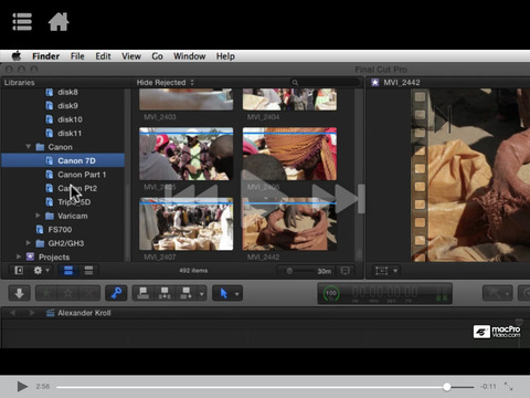 Course for Import and Organize in FCPX|玩攝影App免費|玩APPs