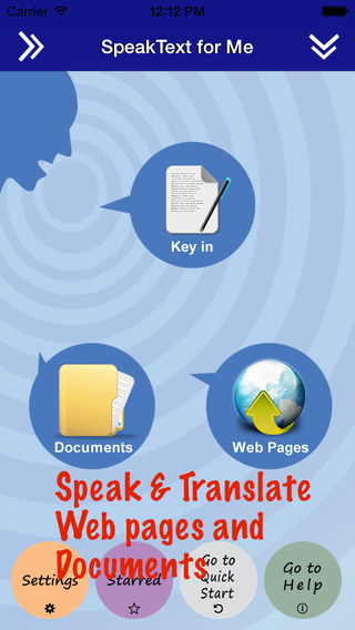 SpeakText for Office - Speak Translate Office Documents and Web pages