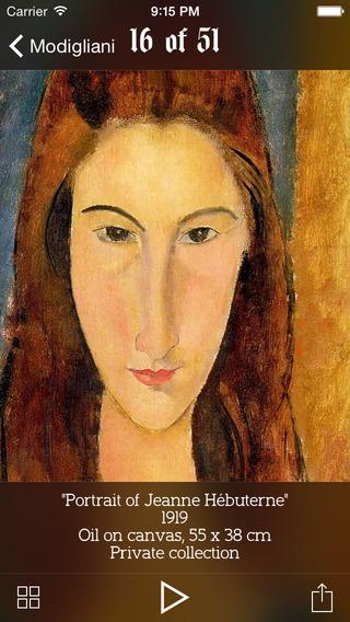 Modigliani lifework