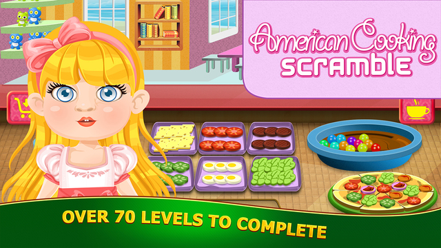 American Cooking Scramble: Delicious Doll Diner PRO