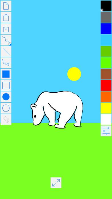 Easy Paint HD iPhone Screenshot 2