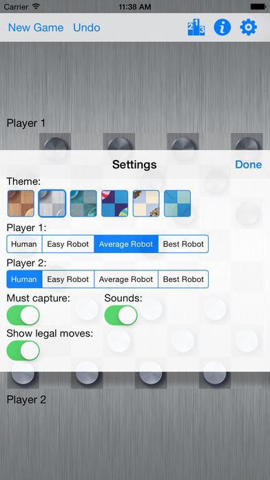 Checkers XS iPhone Screenshot 2
