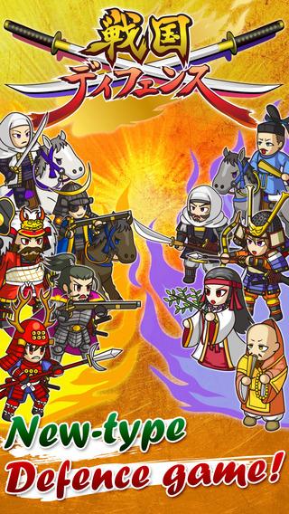Sengoku Defense Full-scale TD game which Sengoku w