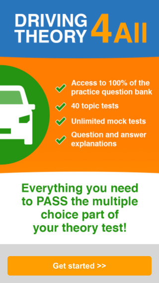 UK Car Driving Theory Test - Practice Questions