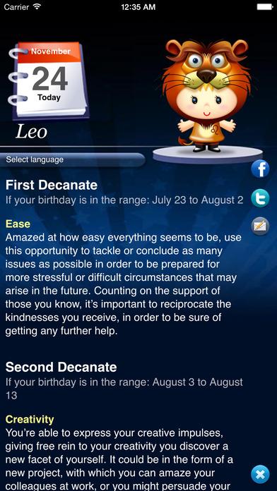 Horoscope HD Pro iPhone Screenshot 2