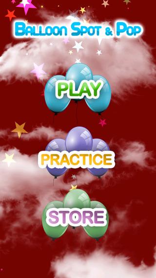 【免費遊戲App】Balloon Spot & Pop-APP點子