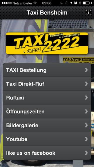 TAXI Zentrale Bensheim