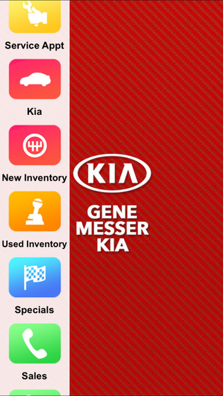 Gene Messer Kia Dealer App