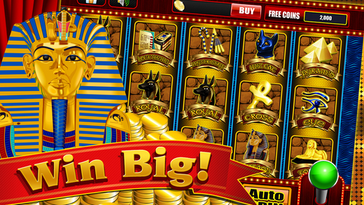 Slots of Pharaoh Stickman Vegas Casino Saga FREE Slot Machine Game