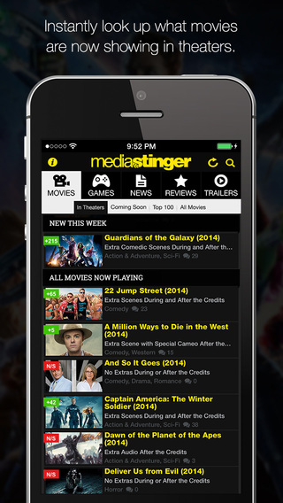 MediaStinger - Movie and Video Game After Credits Database