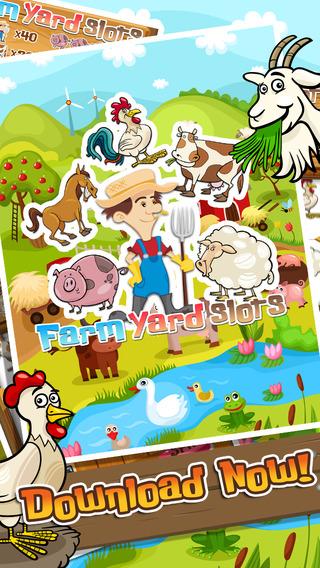 Farm Yard Slot Machine FREE - Spin to Win by Yowie Design