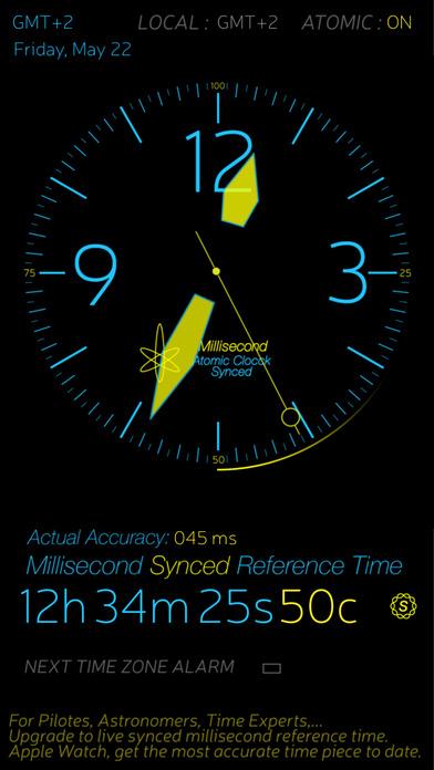 Atomic Clock iPhone Screenshot 1