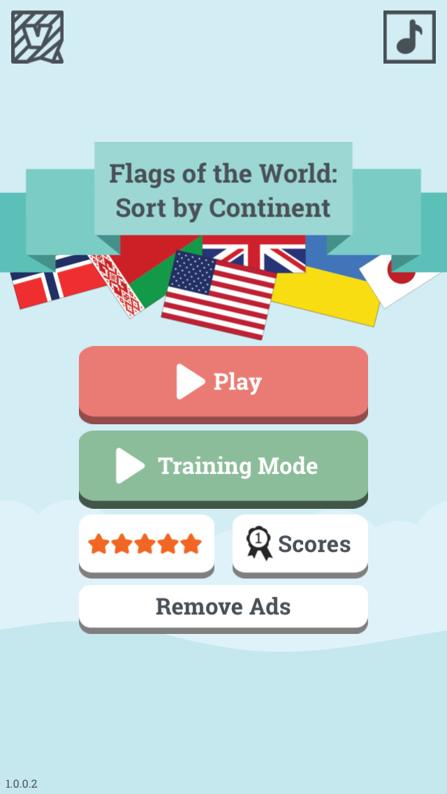 App Shopper: Flags of the World: Sort by Continent