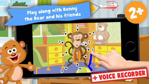 Kids Toys Puzzle Teach me Tracing and Counting - Learn about teddy bears and dolls for boys and girl
