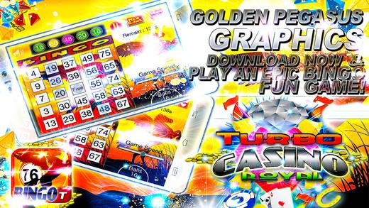 Golden Pegasus Bingo Clans - Free Casino Shine Ball Edition