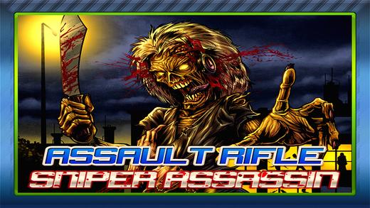 Assault Rifle Sniper Assassin: Zombie Killing Enemy Death Slayer FREE