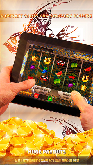 Papercut Slots for Solitaire Players - FREE Slot Game Gold Jackpot