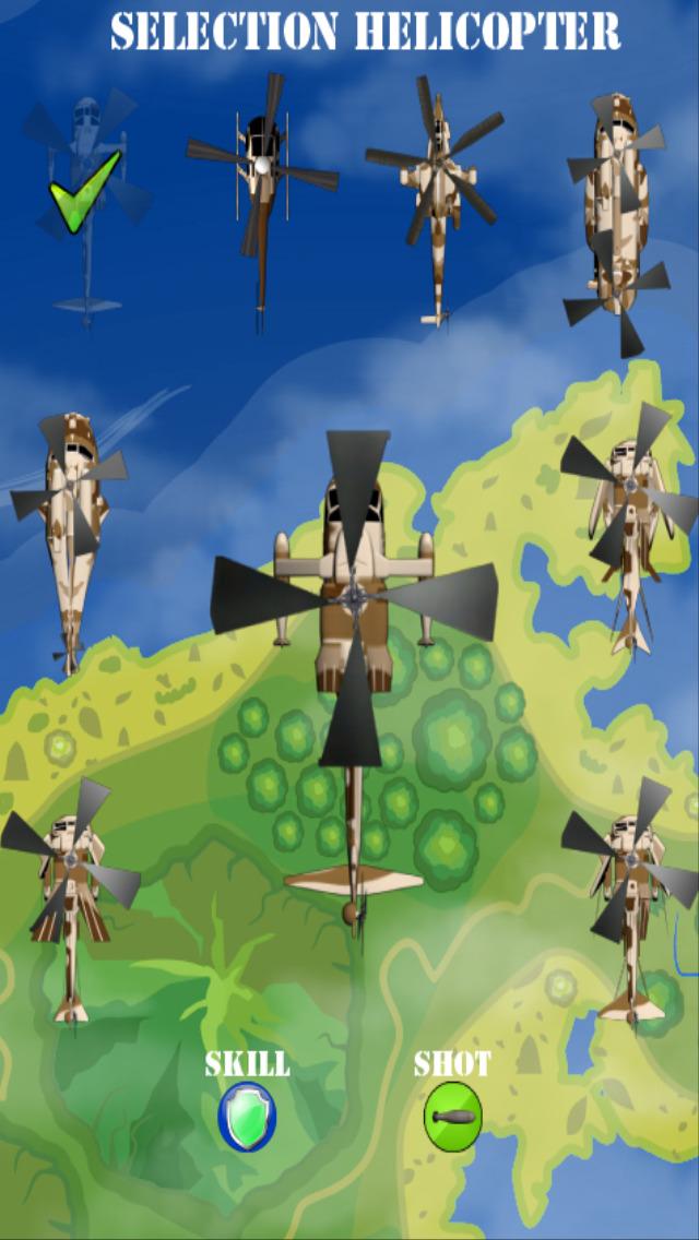 直升机游戏是一个经典的街机风格