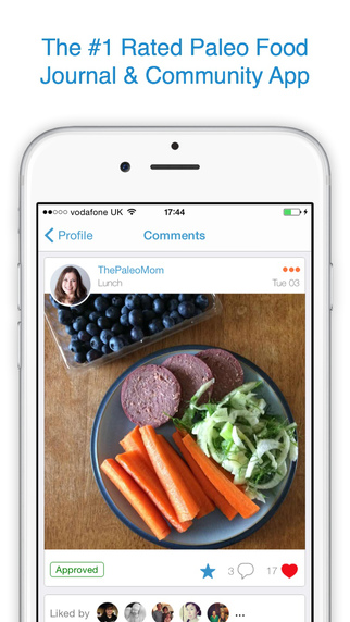 myPaleoPal - Paleo Food Journal Community App