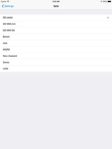 Tomstrails GPS Pro screenshot