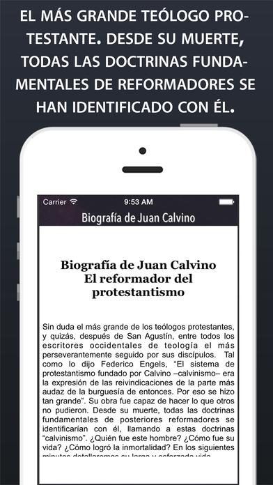 Calvino Bio iPhone Screenshot 1