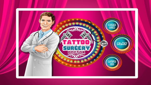 Tattoo Surgery Doctor: Crazy hospital game for little surgeons