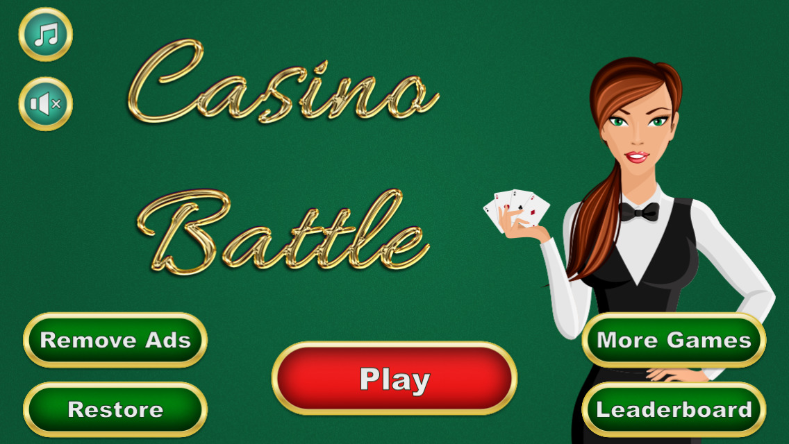 App Shopper: Casino Battle - Higher or Lower Card Game Free (Games)