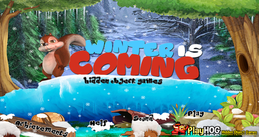 Winter is Coming - Free Hidden Object Games