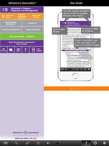 Alzheimer's Disease Pocketcard screenshot
