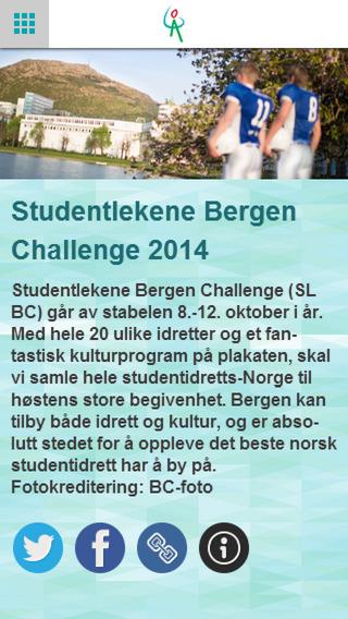 SL Bergen Challenge 2014