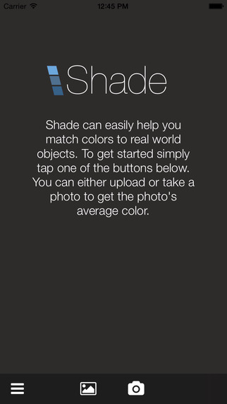 Shade: Real World Color Identifier