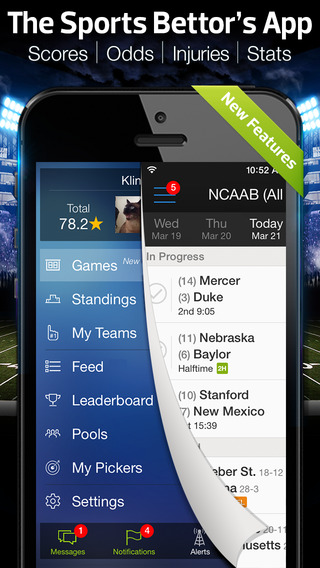 Scores Odds by Onside - Sports Picks Fantasy Betting Live Spread Bet Pick Stats