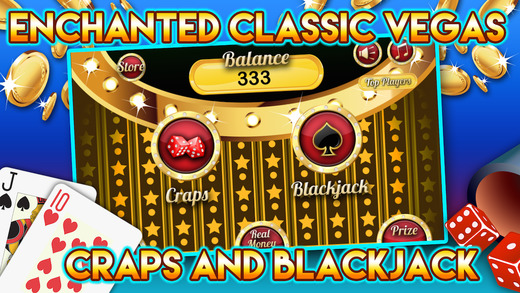 Enchanted Classic : Vegas Craps and Blackjack