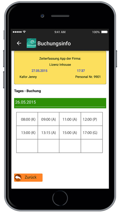 download Krutec Zeiterfassung apps 3