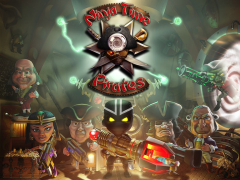 Ninja Time Pirates на iPad