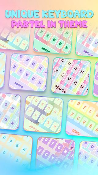 KeyCCM – Pastel : Custom Cute Color Wallpaper Keyboard Themes