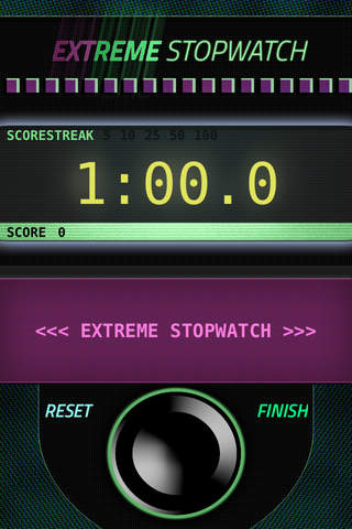 Extreme Stopwatch screenshot 1