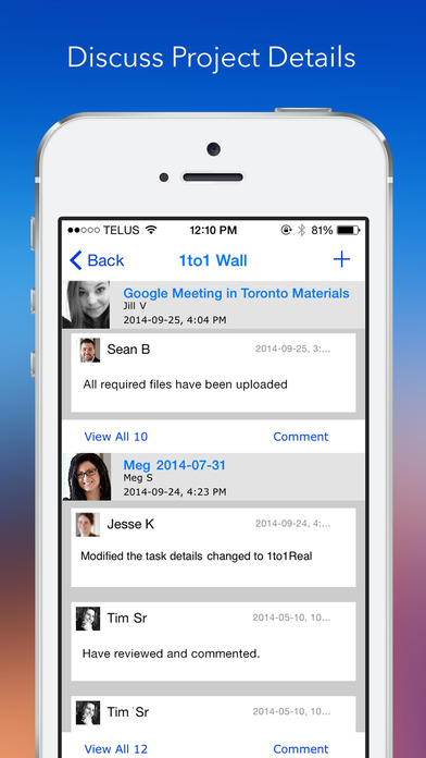 1to1Real iPhone Screenshot 2