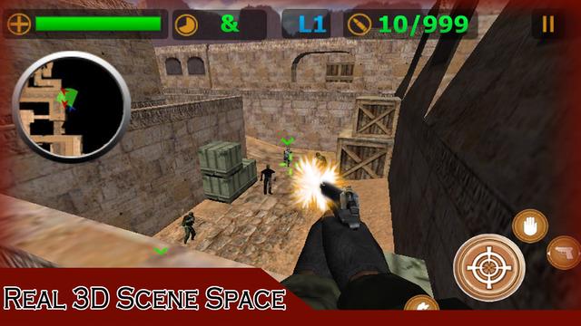 Critical Strike Sniper:Real 3D counter terrorist strike shoot game Screenshots