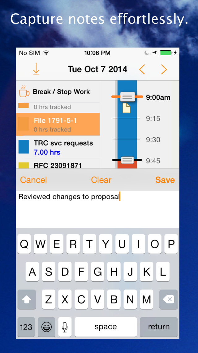 timelines easy and powerful time tracker apprecs