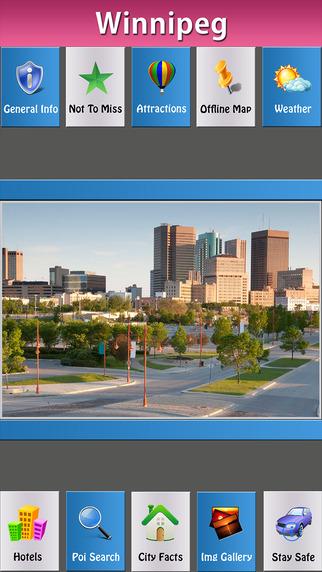 Winnipeg Offline Travel Explorer