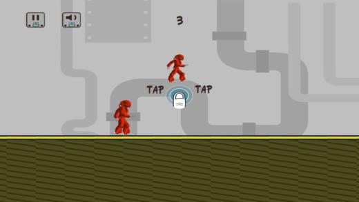 Running Robot Mania - Funny Machine Rush Rampage Paid