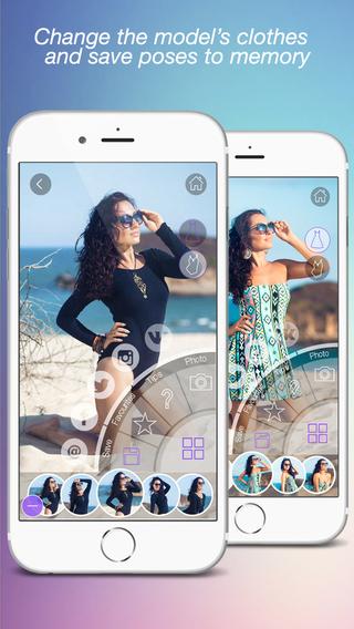 Photo Posing App