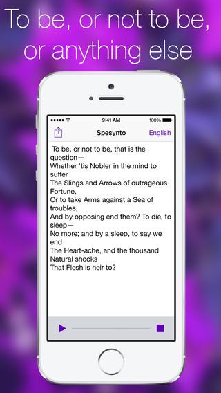Spesynto Speech Synthesis