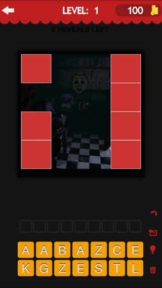 Trivia Quiz Game For Five Nights At Freddy's - Reveal Edition Crack The Characters
