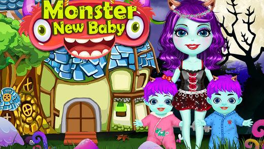 My Newborn Monster Kid - Mommy Baby Care